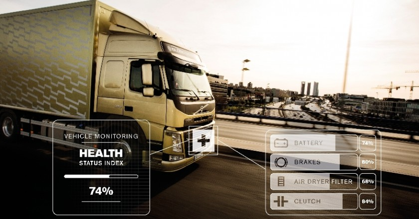 Battery brakes air filters and clutch health are all examples of parts which can be checked remotely thanks to online connectivity
